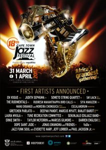 Cape Town International Jazz Festival 2017 first artist line-up