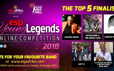 espYoungLegends 2018 – Top 5 announcement and final public voting round opens
