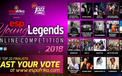 espYoungLegends 2018 – Top 20 finalists announced and public voting begins