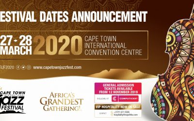 Africa's Grandest Gathering: 21st annual celebration of jazz to take place in March 2020 – Date and Ticket Pricing announcement